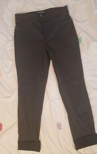 DKNY tweed trouser jeggings